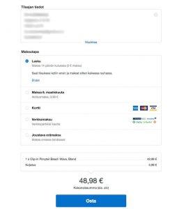 Näin ostat hiustenpidennykset Rapunzel Of Sweden verkkokaupasta - Klarnan vanhoille asiakkaille osoitetiedot täytetään automaattisesti