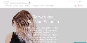 Mago hiustenpidennykset Tampere - Session Salon
